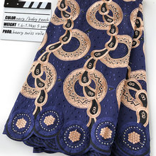 Lace-Fabric Eyelet-Holes Swiss Soft Full-Embroidery Breathable African High-Quality