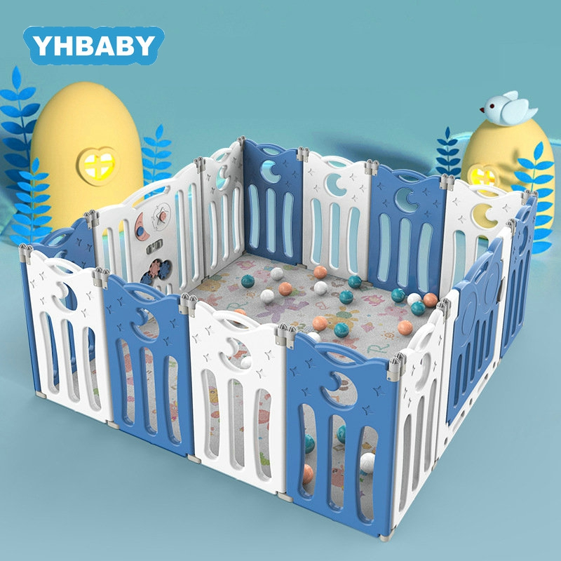 Baby Playpen For Children Pool Balls For Newborn Folding Baby Fence Playpen For Baby Pool Children Playpen Kids Safety Barrier