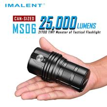 Imalent MS06 flashlight with battery