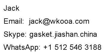 Wkooa OCC-5 montagem de fio preto tipo redondo assento fixo