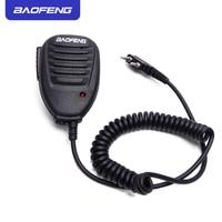 מכשיר הקשר PTT מיקרופון מיקרופון Baofeng רדיו רמקול מקורי עבור שני הדרך רדיו מכשיר הקשר UV-5R UV-5RE UV-5RA פלוס UV-6R Portable (2)