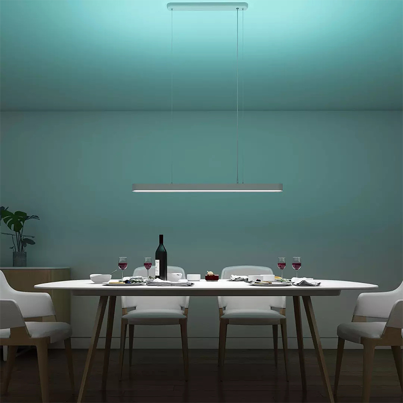 Original xiaomi mi jia yeelight meteorito led luzes pingente de jantar inteligente restaurante lustre trabalho com para mi casa app - 3