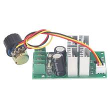 DC Motor Speed Controller Hohe Qualität PWM Unterstützung PLC Analog mit Knopf DC6-60V 20A Motor Gouverneur(China)