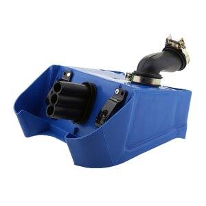 Image 2 - Mavi hava kutusu filtre tertibatı için Yamaha PEEWEE PW80 PW 80 Pit kir bisikletleri