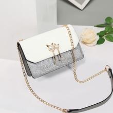 Small Bag Girl Woman Luxury Handbags Women Bags Designer Korean Style  Shoulder Chain Female bag