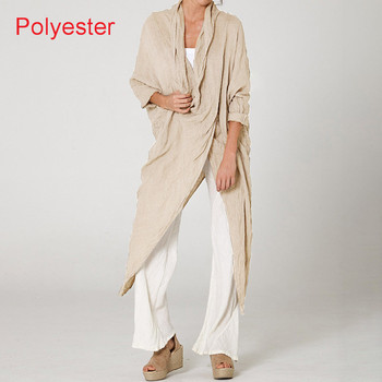 Plus Size Women Tops and Blouse 2021 Celmia Autumn Vintage Long Blouses Casual Cowl Neck Long Sleeve Asymmetric Party Blusas 5XL 14