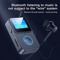Nuovo Sport bluetooth lettore MP3 schermo LCD Display pulsante controllo con supporto schermo TF Card telecomando modulo Audio telecamera