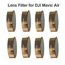 Фильтр для объектива камеры dji mavic air drone cpl nd pl поляризационный