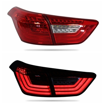 VLAND factory for car taillight for IX25 Creta LED tail light 2015-2017 and turn signal with sequential indicator+play and plug