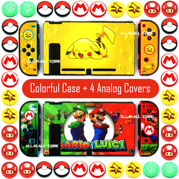 Nintendoswitch Console Case Pastel Joycon Shell Hard Skin Custom Protective Cover for Nintendo Switch Games Housing Accessories 1