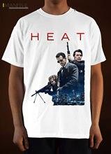 Heat Movie Poster Ver 1 T Shirt Al Pacino Robert De Niro (White) S 3Xl Mens Fashion 2019 100% Cotton Short Sleeve