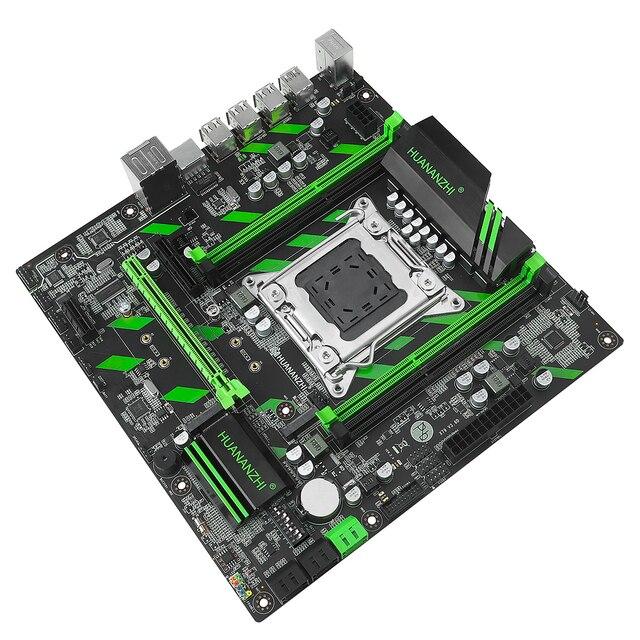 HUANANZHI X79-ZD3 REV2.0 carte mère pour Intel C602 X79 LGA 2011 ECC REG DDR3 1866MHz 128GB M.2 NGFF/NVME MATX carte mère