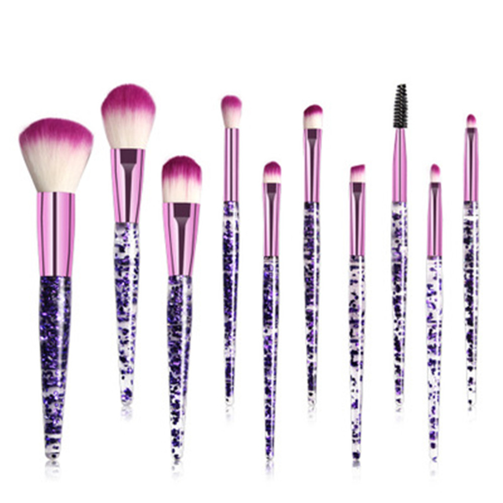 Conjunto de Pincéis de maquiagem Para A Fundação Blush Em Pó Sombra Concealer Lip Eye Make Up Brush Cosméticos Kit Ferramentas de Beleza