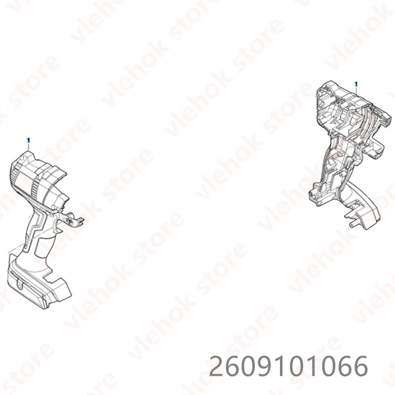 Housing for BOSCH GDX14.4V-EC GDX18V-EC GDR14.4V-EC GDR18V-EC GDS18V-EC 2609101066 Impact Wrench Power Tool Accessories Electric