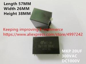 Оригинальный новый 100% МКП 20 мкФ 300VAC постоянного тока 1000 в высокочастотный высоковольтный безэлектродный конденсатор (индуктор)