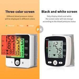 Image 4 - OLIECO USB akumulator automatyczny cyfrowy nadgarstek Monitor ciśnienia krwi rosyjski j. Angielski tonometr elektryczny Sphygmomanom PR