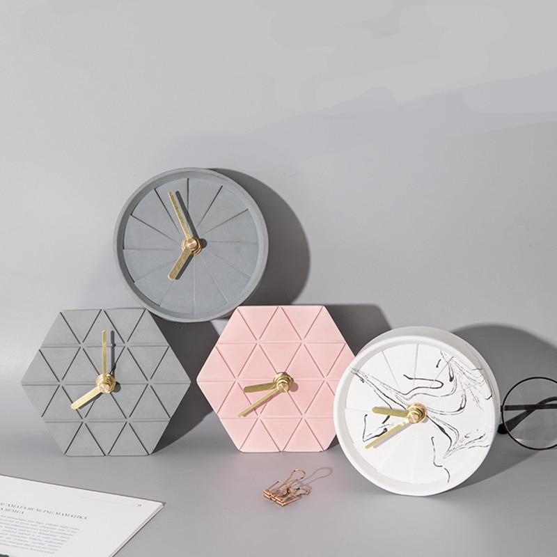 Цементные часы, форма для цемента, силиконовая форма, часы, маятниковая форма, Домашняя мода, геометрические часы, силиконовая форма|Глиняные формы|   | АлиЭкспресс - Крутые настенные часы