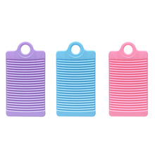 Plastic Washboard Antislip Thicken Washing Board Clothes Cleaning For Laundry MU8669