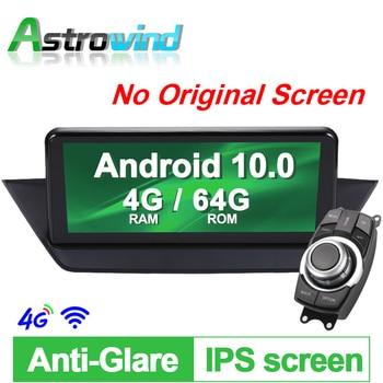 "10.25"" 4G RAM Android 10.0 System Car GPS Navigation Media Stereo Radio For BMW X1 E84,  no original screen, offer idrive"