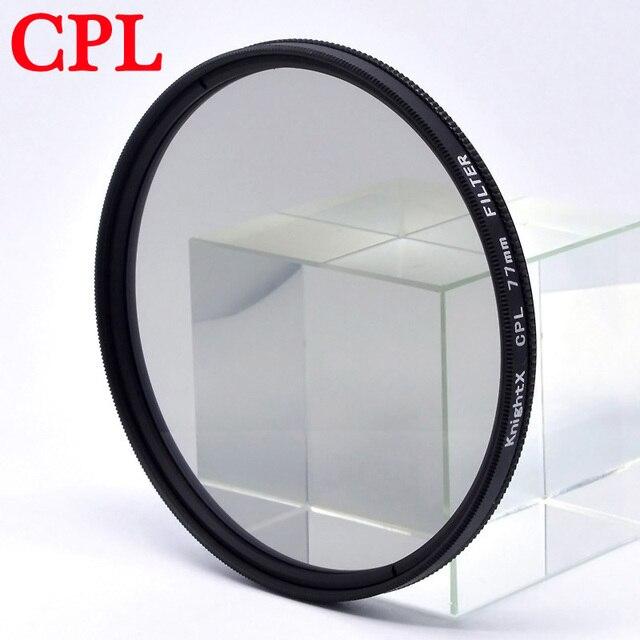 KnightX de filtro de color UV CPL estrella lentes variables para canon sony nikon d80 d70 d3300 700d 1300d 49 52 55 58 62 67 72 77 mm