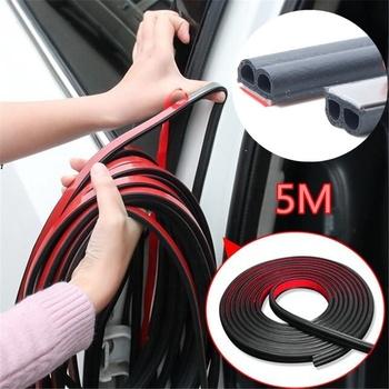 5 metrów uszczelka do drzwi samochodowych naklejki B kształt uszczelki gumowe izolacja akustyczna uszczelnienie akcesoria do wnętrza samochodu tanie i dobre opinie CN (pochodzenie) 0 5cm Rubber Wypełniacze Kleje i uszczelniacze 0 13kg Soundproof dust-proof waterproof and noise reduction