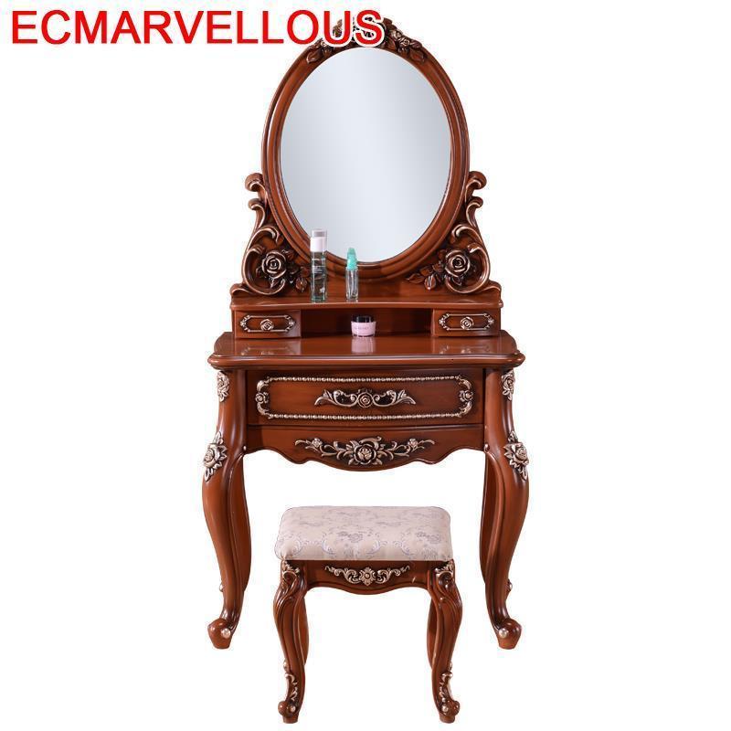 De Maquiagem Comoda Para Quarto Toaletka Do Sypialni Makeup Box Tablo Bedroom Furniture Penteadeira Korean Dressing Table