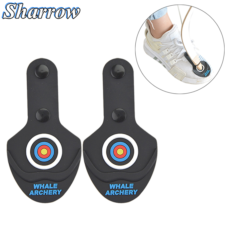 Recurve Bow Limb Protection Archery Break Rubber Pad Protector On The Shoes Foot For Longbow Limbs Protector Accessories