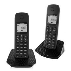 Wireless Phone Alcatel E132-DUO DECT Black (2 pcs)