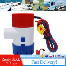Water-Pump Boat Electric 24V with for Automatic-Control-Switch Combination-Set 1100GPH