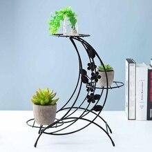 Бытовой утюг растительный стенд плотная полка стойка многослойный сад балкон Настольный Декор кофе в помещении полка для цветочных Горшков