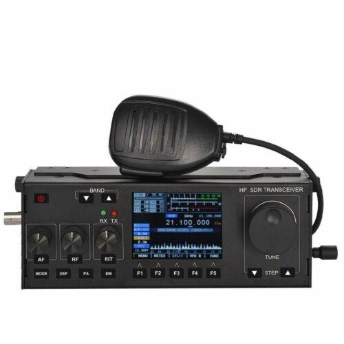Récent 10-15W RS-918 SSB HF SDR HAM émetteur-récepteur transmettre la puissance TX 0.5-30MHz V0.6