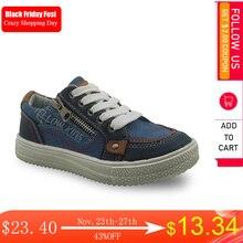 Apakowa chaussures pour garçons, baskets en toile patché en Pu, printemps automne, pour garçons, nouvelle collection de chaussures ue 26 30