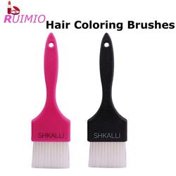 2Pcs Hair Coloring Brushes Plates Dye Cream Brushes Dye Hair Brushes Combs Professional Hairdressing Tools for Home Barber Shop
