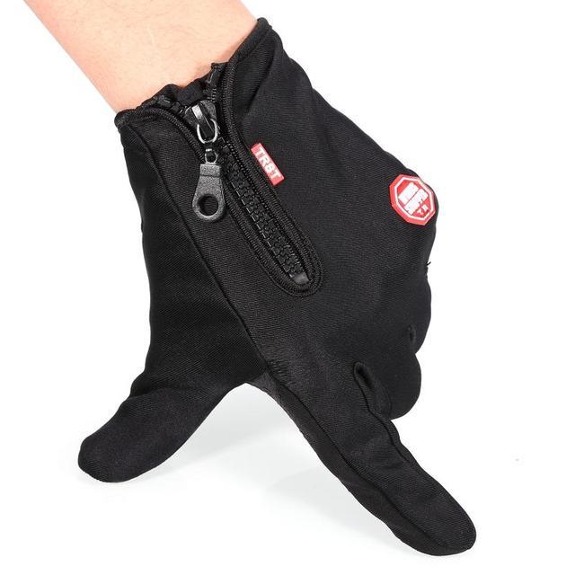 Outdoor Winter Windstopper Gloves Full Finger Gloves Men Women Touch Screen Gloves Bicycle Gloves Winter Warm Mittens 1