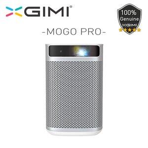 Xgimi mogo pro projetor portátil inteligente 1080 p android 9.0 completo hd dlp mini projetor bolso cinema com 10400 mah bateria 250 ansi