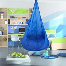 2020 New Hammocks Home Child Hammock Chair Kids Swing Pod Outdoor Indoor Hanging Seat Hammocks outdoor furnitures