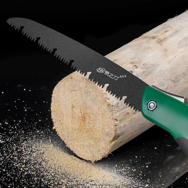 520 mm Sierra plegable para todo uso sierra de jardinera plegable sierra de podar manual port/átil a domicilio herramienta de jard/ín de madera