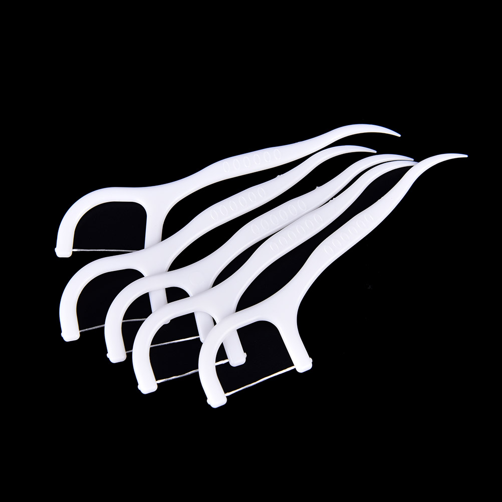 50 шт./кор. Пластик зубная нить Стик для зубной нити зубная щетка зубочистка Teethpic зуб для удаления пятен Уход Чистка инструменты|Зубочистки|   | АлиЭкспресс