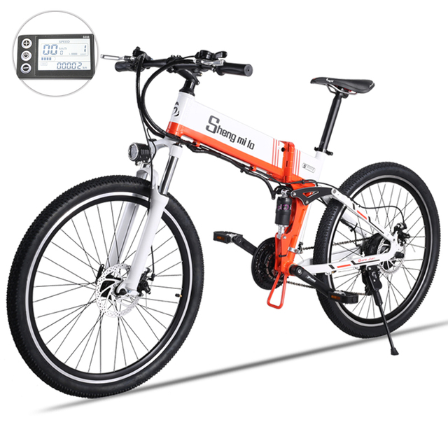 electric bike 21 speed 10ah 48 v, 500 w built-in lithium battery, ebike electric bicycle 26  2