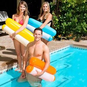 Colchón inflable de verano para Piscina, silla para Piscina plegable, hamaca, deportes acuáticos, anillos de Piscina