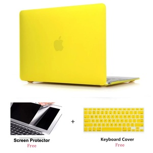 For Mac 12 inch A1534 Matte Hard Case Cover+Keyboard Cover+Screen Film+Dust Plugs only For Apple Macbook Retina 12 model A1931