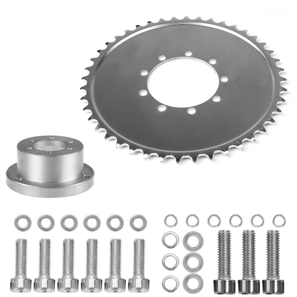 "38mm 1.5/"" inch CNC Adapter Set 49cc 50cc 66cc 80cc 2 Stroke Motorized Bicycle"