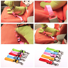 Car Pet Seat Belt Hand Holding Rope with Socket Convenient Fast Use Improve Dog Safety(China)
