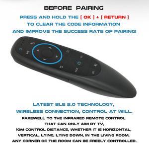Image 3 - L8starブルートゥース5.0エアマウスワイヤレスジャイロG10S BT5.0 [いいえusbレシーバースマートリモートxiaomiスマートテレビandroidテレビボックス