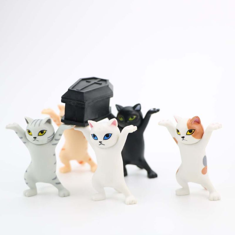 Cute Cat Pen Holders ( Without Coffin ) 4