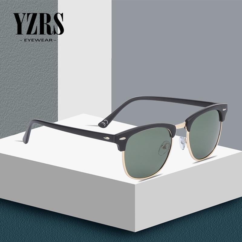 YZRS Brand Classic Polarized Sunglasses Men Women Retro Designer Sun Glasses Female Male Fashion UV400 Sunglass