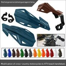 1 Pair 22/ 28mm Motorcycle Windproof Hand Guard Handle Protector Shield Handlebar Guards Protection For Kawasaki KX65 KX85