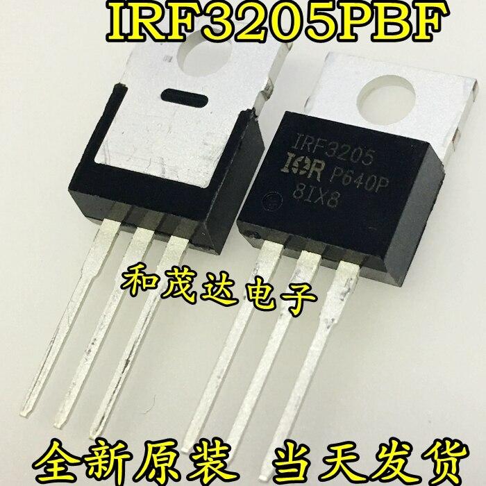 1 шт. новый оригинальный IRF3205PBF IRF3205 TO-220 55V110A в наличии