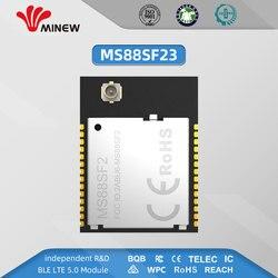 Conector ms88sf2 ufl do módulo de minew nrf52840 para a antena externa