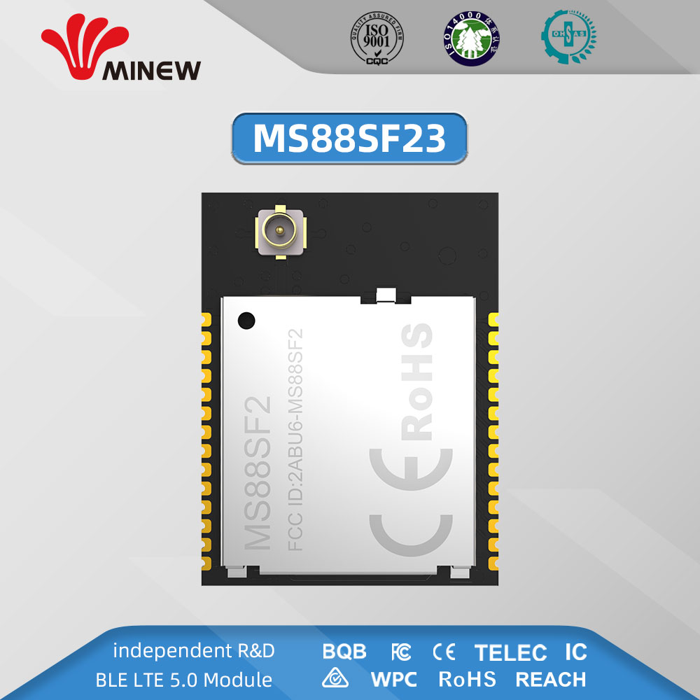 Minew NRF52833 Module MS88SF2 UFL Connector For External Antenna